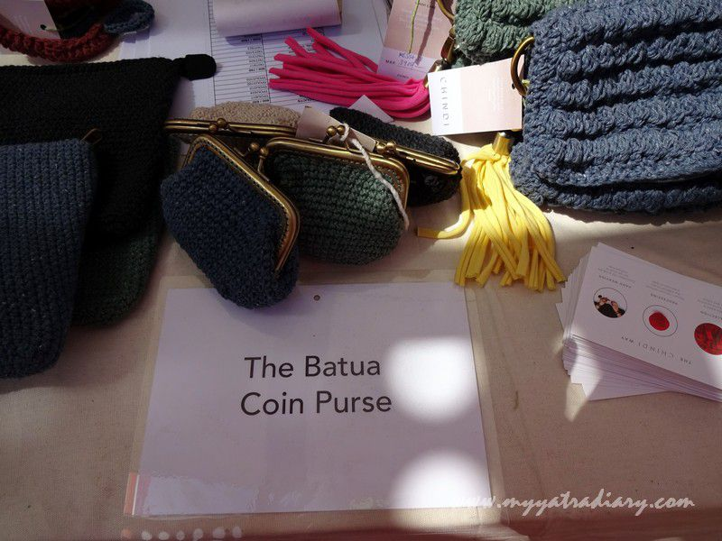 Batua or purses - stalls at Visual arts, Kala Ghoda Arts Fest, Rampart Row, Fort.