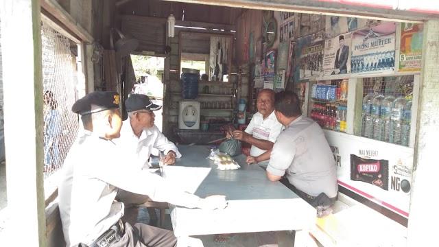 Patroli Dialogis Sat Sabhara Polres Tanjung Balai Di Warkop