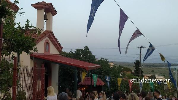 Στυλίδα 26 Αυγούστου 2021 - Παραμονή εορτασμού Αγίου Φανουρίου στο Κοκκινόχωμα Στυλίδας