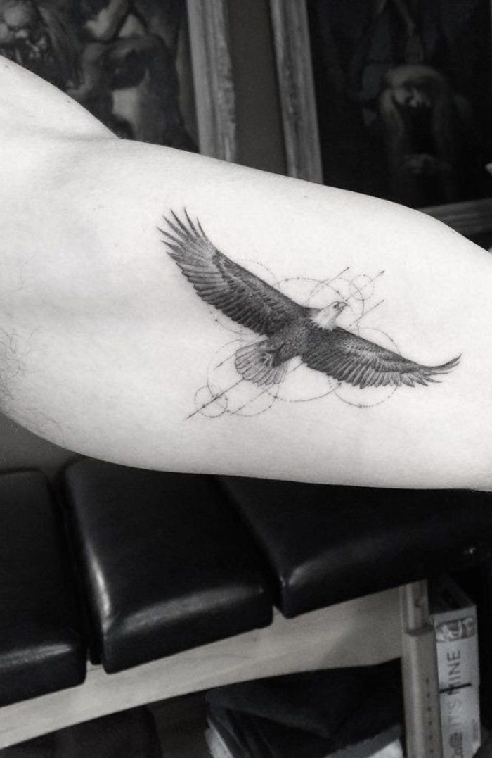 50 Best Simple Tattoos Design For Men Ideas The plane's wings and tail can be seen clearly. 50 best simple tattoos design for men ideas
