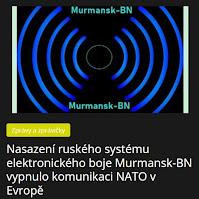 Nasazení ruského systému elektronického boje Murmansk-BN vypnulo komunikaci NATO v Evropě - AzaNoviny