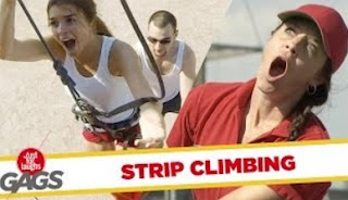 Funny Video – The Ultimate Wall Climbing FAIL