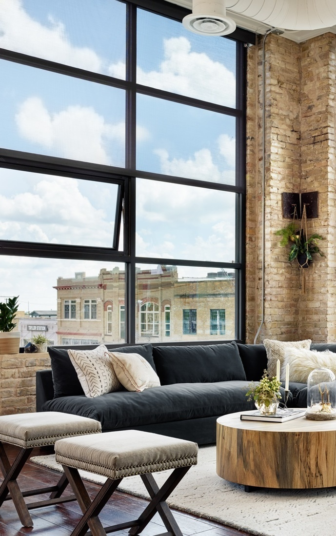 living room loft design idea