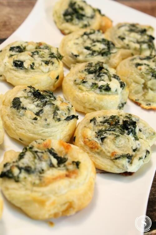 Creamy Spinach Roll Ups Recipe #vegetarian #roll #vegetables #breakfast #dinner