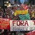 SÃO PAULO / Protesto contra Temer em SP termina com violência policial: 100 mil pessoas contra Temer