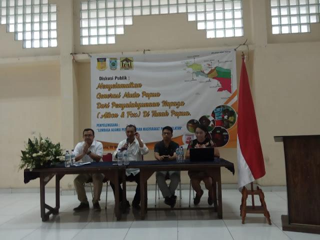 APMAS PASEL: 'Aibon' Matikan Potensi Generasi Emas Papua