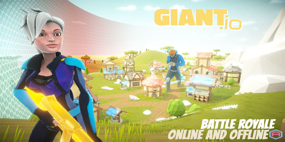لعبة Giant io