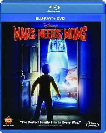 Mars Needs Moms 2011 Hindi Dual Audio BluRay 720p 1GB