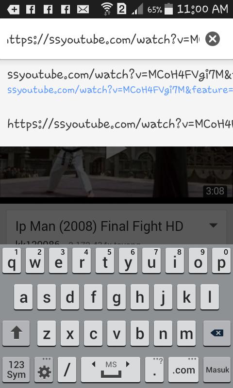 Cara Gampang download video youtube di android