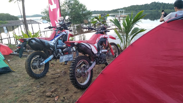 Honda Bikers Adventure Camp Jajal Kawasan Danau Laet
