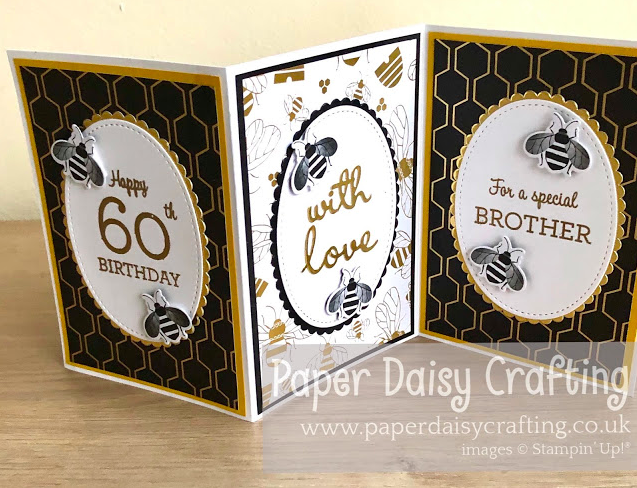 Nigezza Creates with Stampin' Up! & Paper Daisy Crafting & Golden Honey DSP