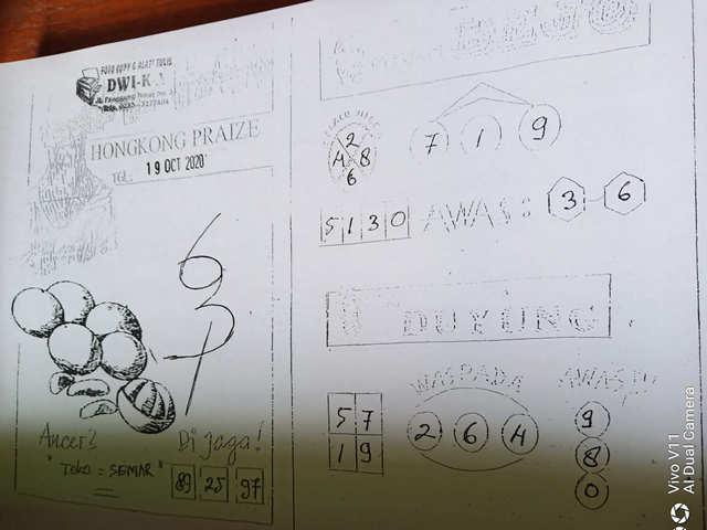 Kode syair Hongkong senin 19 oktober 2020 105