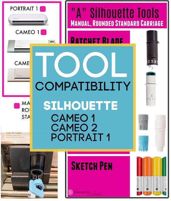 silhouette 101, silhouette america blog, silhouette blades, cameo 2, cameo 1