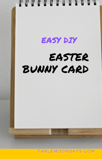 Easy DIY Easter Bunny Card