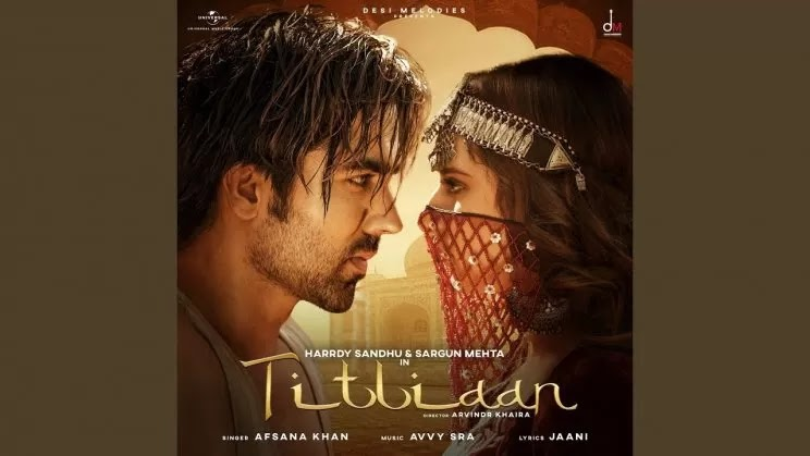 Titliaan Lyrics in Hindi