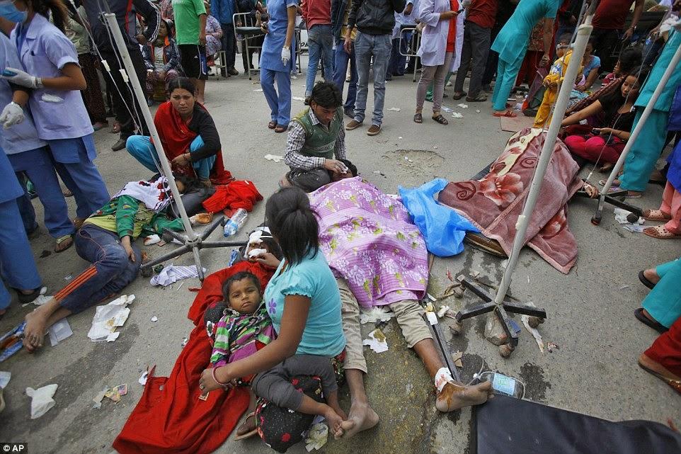 razorni potres u Nepalu