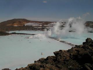 Vie quotidienne de FLaure : Lagon bleu de la péninsule de REYKJANES,