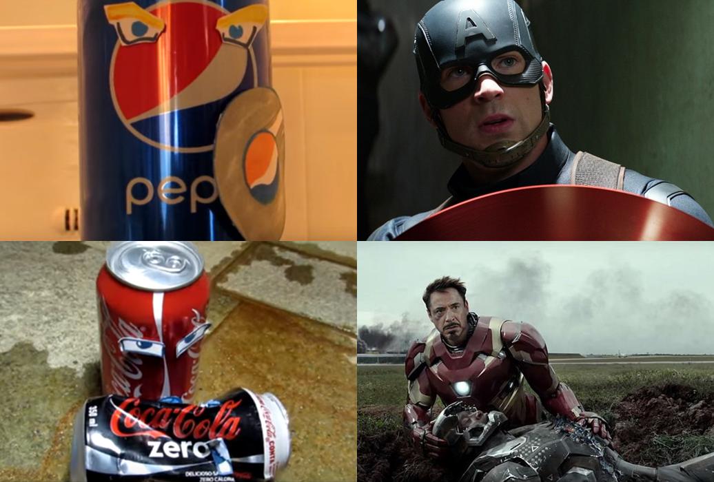 Coca vs Pepsi: A paródia de Guerra Civil que você vai morrer de rir