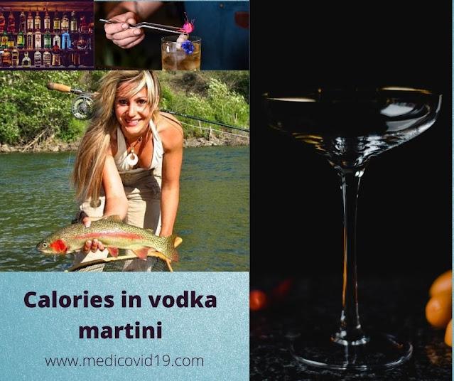 Calories in vodka martini