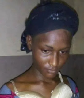 nigerian man disguises as woman to get job