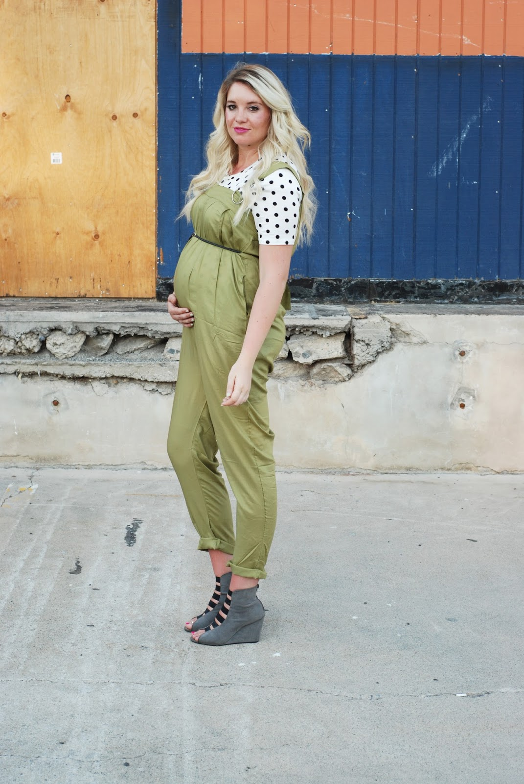 Jumpsuit, Groopdealz, Pregnant Outfit