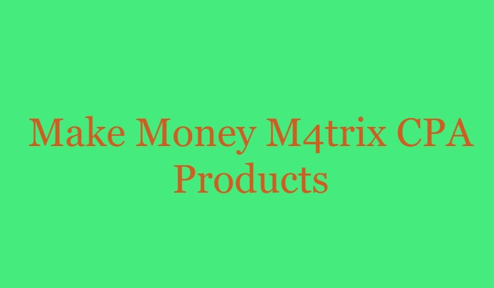 M4trix CPA Products