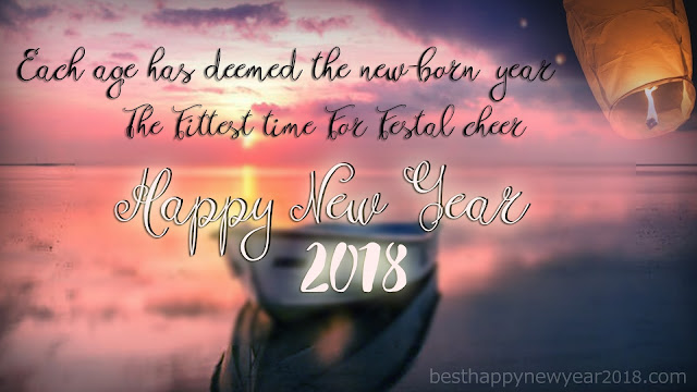 New Year 2018 Sayings