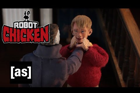 Robot Chicken Home Alone with Michael Myers