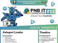 PNB IT Competition 2021 di Politeknik Negeri Bali