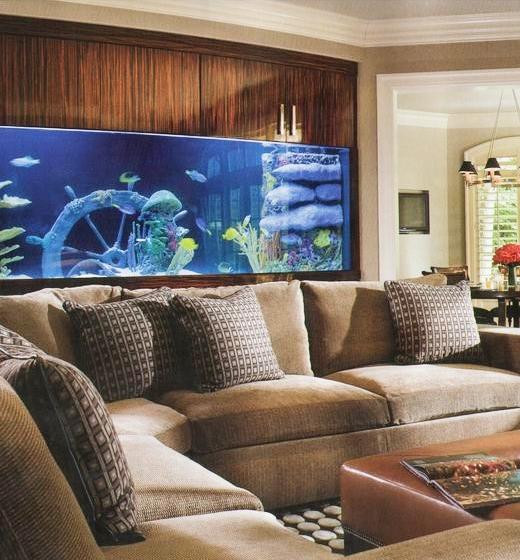 Aquarium Design Ideas Living Room