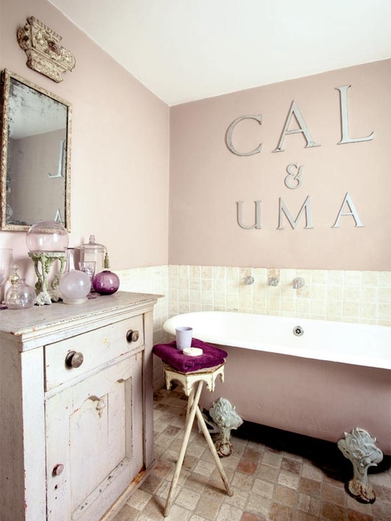 The Shabby Chic Mess New Wall Color