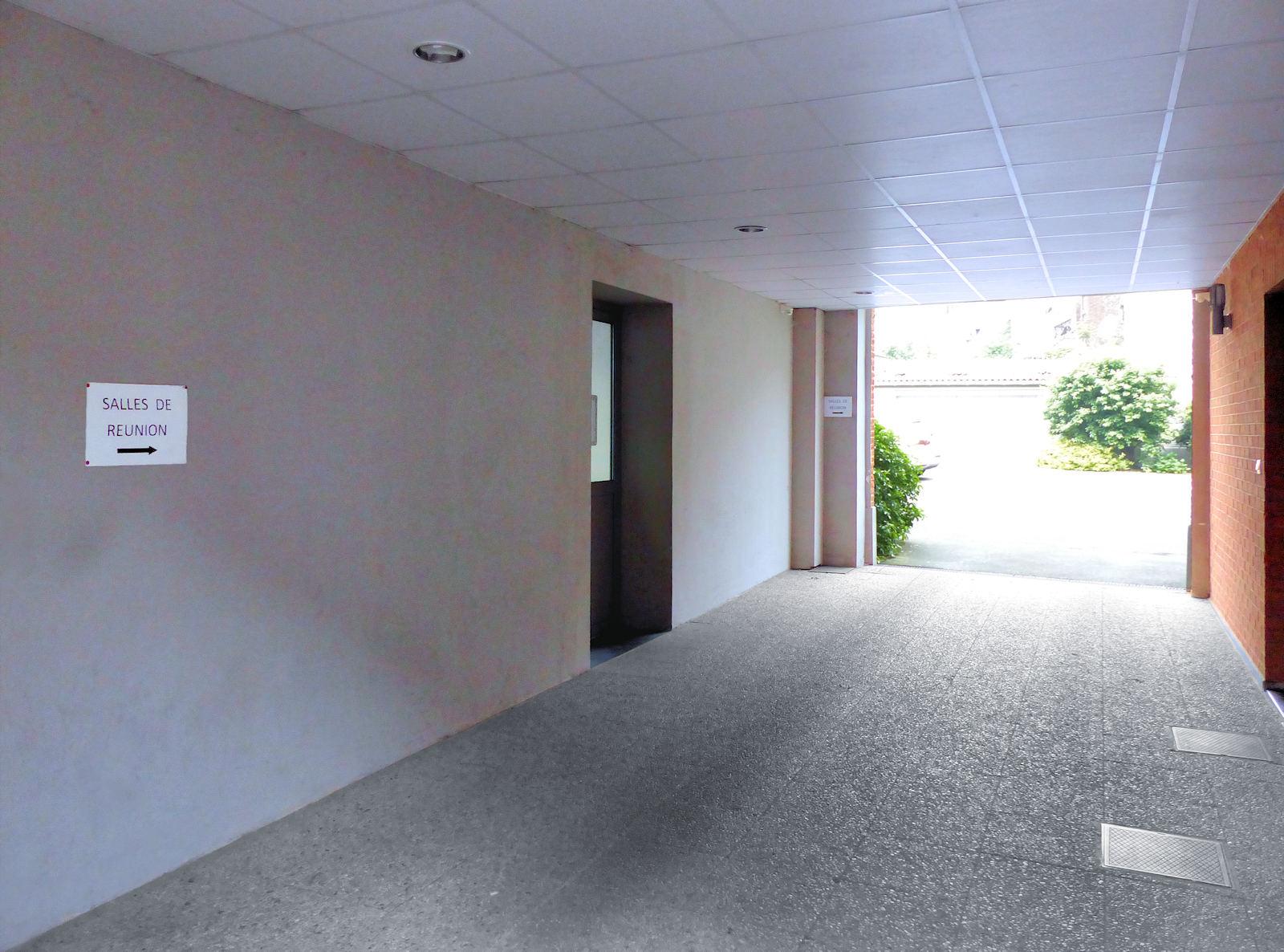 Centre Pastoral, Tourcoing - Accès aux salles de réunion