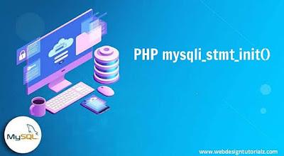 PHP mysqli_stmt_init() Function