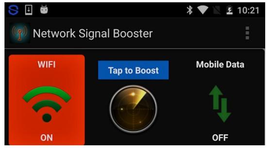 aplikasi booster sinyal 3G dan 4G