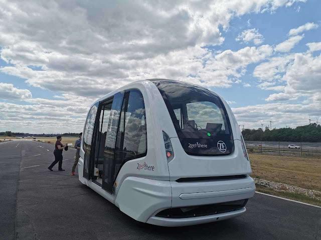 Autobuses autónomos se empezarán a probar en Europa