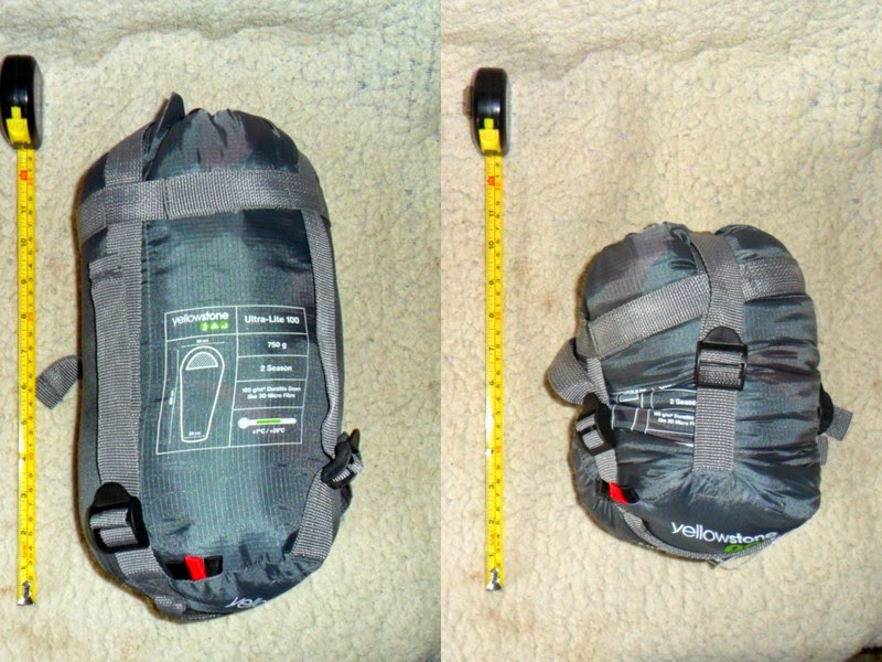 Let S Start With Few Hard Data About The Bag First Yellowstone Ultralite 100 Is Classified As A Ultra Light 2 Season Sleeping That Means It Should Be