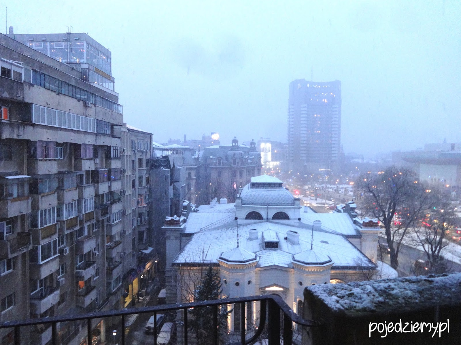 Atrakcje Bukaresztu - Panorama