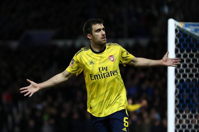 Arsenal defender Sokratis is not part of Arteta's plan at Arsenal