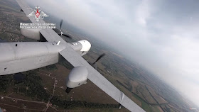 Image Attribute: Altius-U during its first flight /Source: Russian MoD