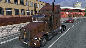Kenworth T800 Wood skin