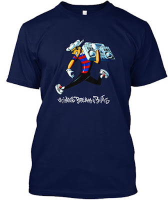 Ultimate Breaks and Beats Tee - Radio Raheem