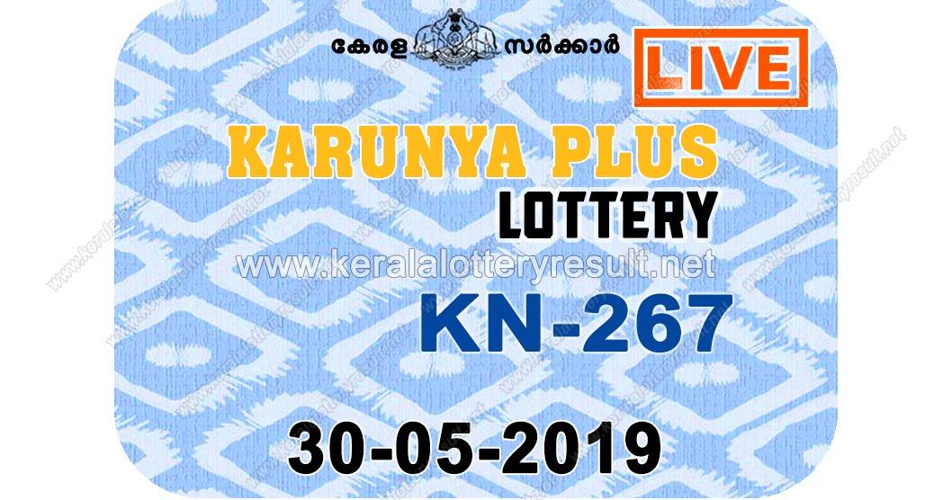 Kerala Lottery Result 30/05/2019 ; Karunya Plus Lottery