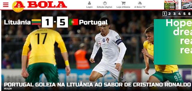 """Ronaldo chói sáng 4 bàn: Báo chí thế giới ngả mũ kính nể """"vua châu Âu"""" 2"""