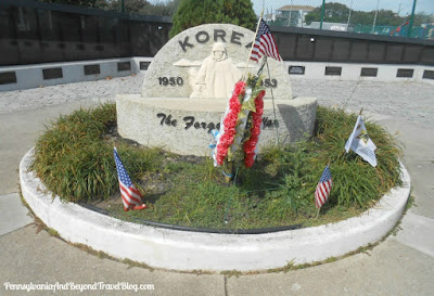 Korea War Memorial in Wildwood New Jersey