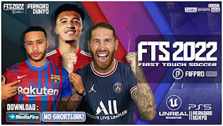 Download FTS 2022 Android License FIFPRO English HD Graphics & Update Kits 2021/2022