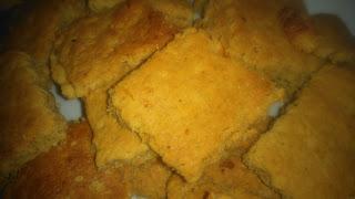 Μπισκοτάκια νηστίσιμα τύπου shortbread, με μανταρίνι, πίτουρο βρώμης και σιρόπι αγαύης