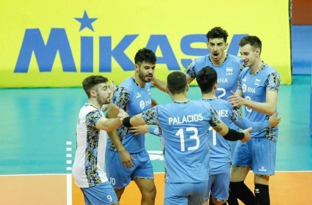 Vóleibol: Argentina le ganó 3-1 a Chile en el Sudamericano y se clasificó al Mundial de Rusia 2022