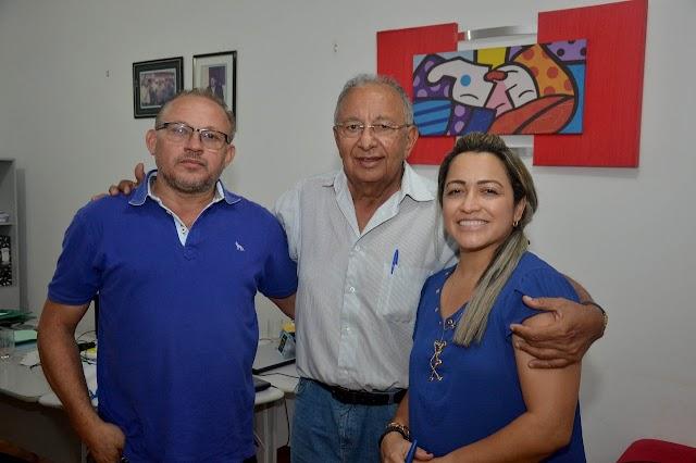 Pré candidato a senador Dr Pessoa cumpre agenda em Olho D'Água do Piauí