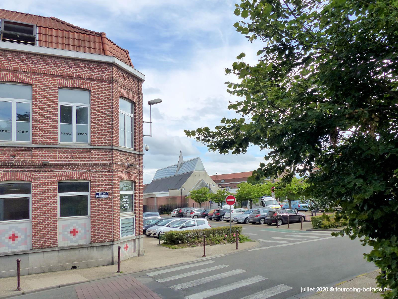 Maison Médicale de la Croix-Rouge, Tourcoing 2020
