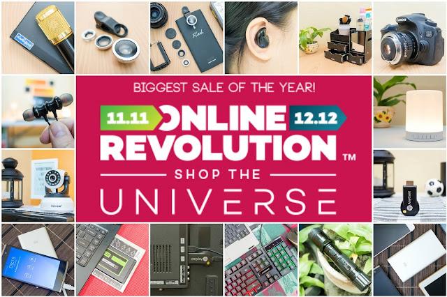 Lazada Online Revolution 2017 schedule